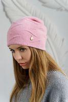 Шапка женская Mira Adriana 7.567-04 розовая (утепленная)
