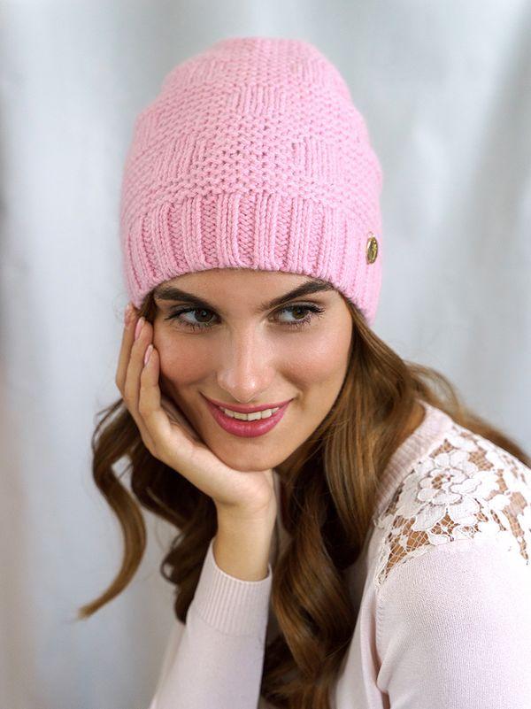 Шапка женская Mira Adriana 7.570-04 розовая - фото 1