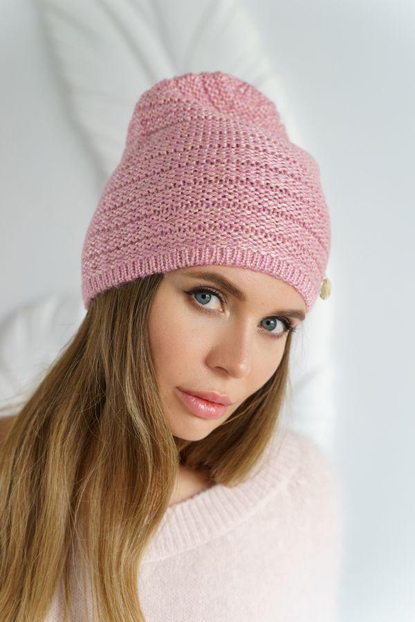 Шапка женская Mira Adriana 7.589-1 розовая - фото 1