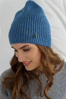 Шапка женская Mira Adriana 7.590-5 синяя
