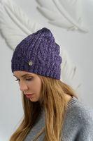 Шапка женская Mira Adriana 7.591-2 фиолетовая