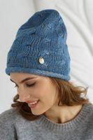 Шапка женская Mira Adriana 7.592-5 синяя
