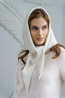 Косынка женская Mira Adriana 7.572-02 белая