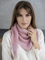Косынка женская Mira Adriana 8.714-1 розовая