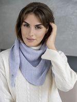 Косынка женская Mira Adriana 8.714-3 голубая