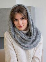 Снуд женский Mira Adriana 8.717-3 серый меланж