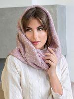 Снуд женский Mira Adriana 8.717-6 розовый меланж