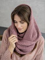 Снуд женский Mira Adriana 8.726-7 пыльно-розовый