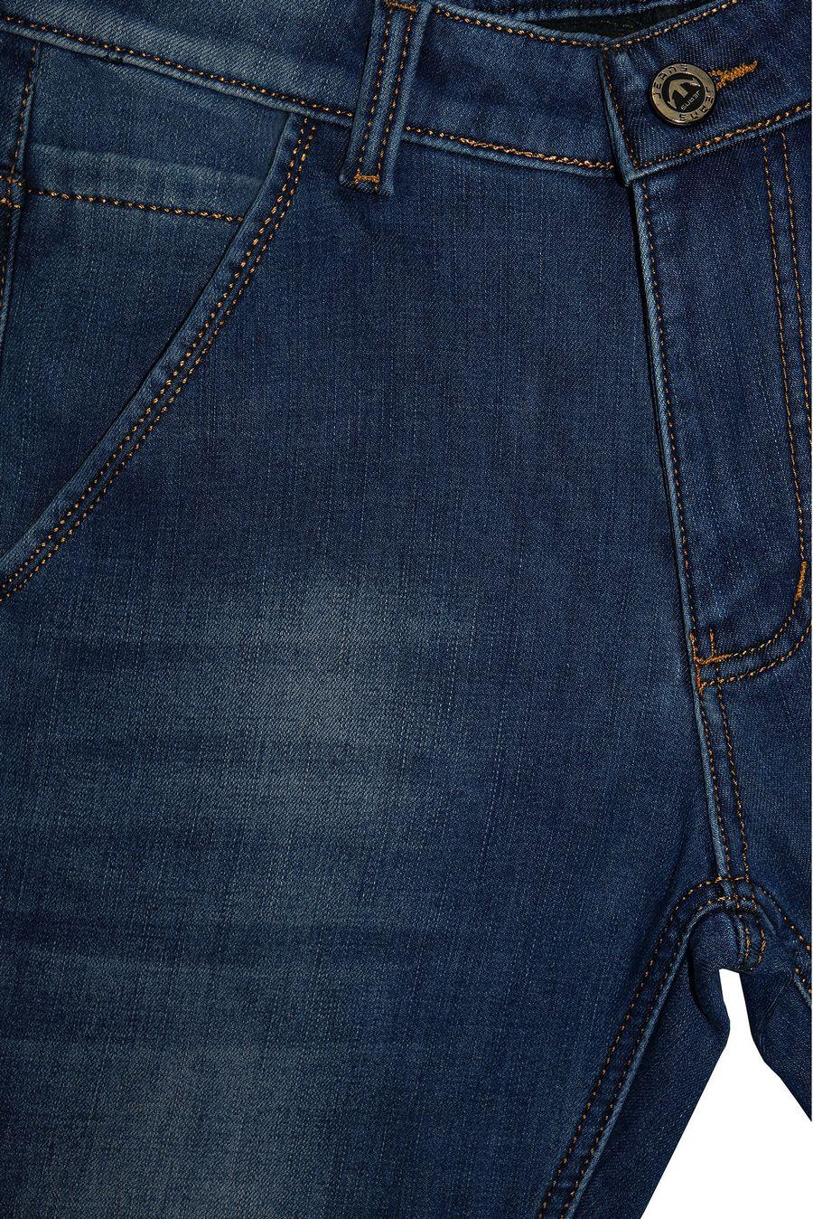 Джинсы мужские DR (Dervirga`s) 95072F утепленные - фото 3