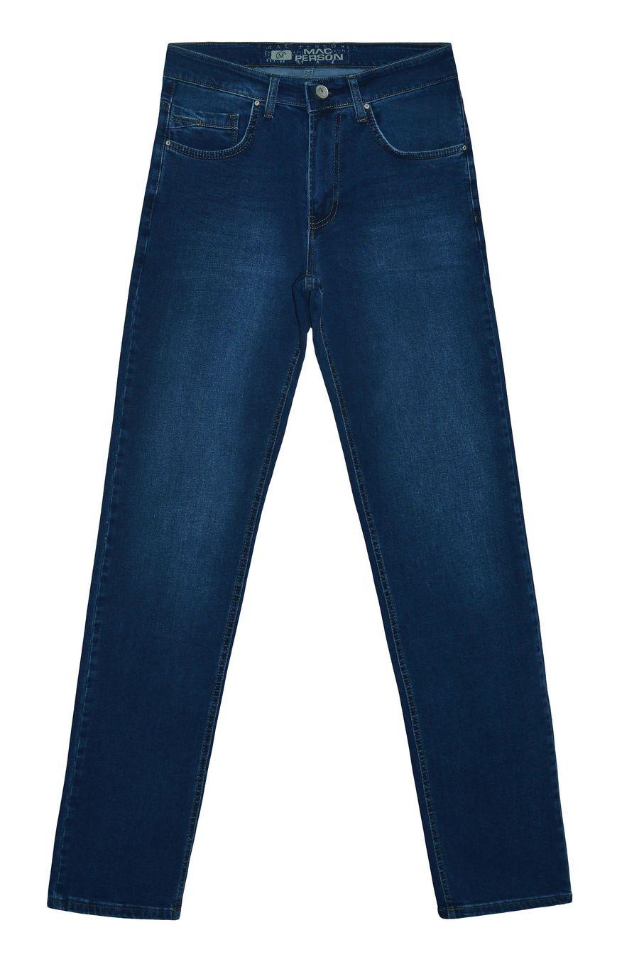 Джинсы мужские MAC Person 2922-12059 Blue Blue L36 - фото 1