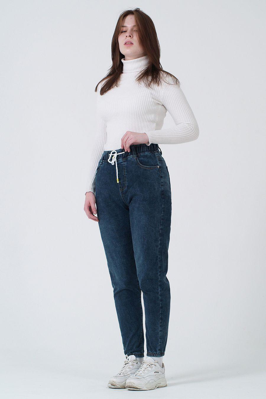Джинсы женские K.Y Jeans 088 утепленные - фото 1