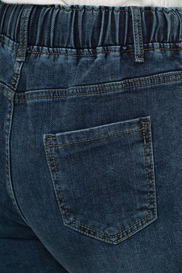 Джинсы женские K.Y Jeans 088 утепленные - фото 4