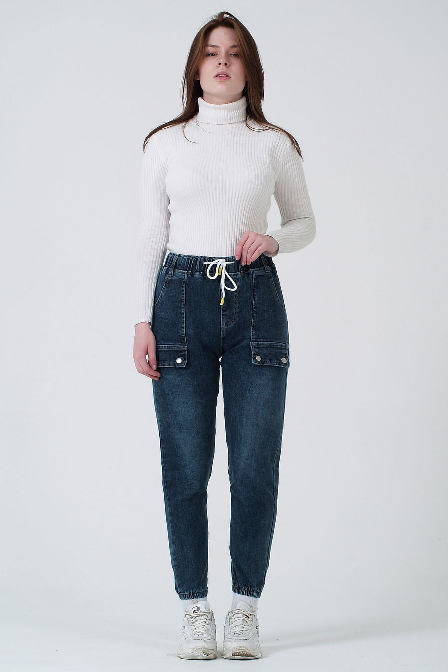 Джинсы женские K.Y Jeans 096 утепленные - фото 1