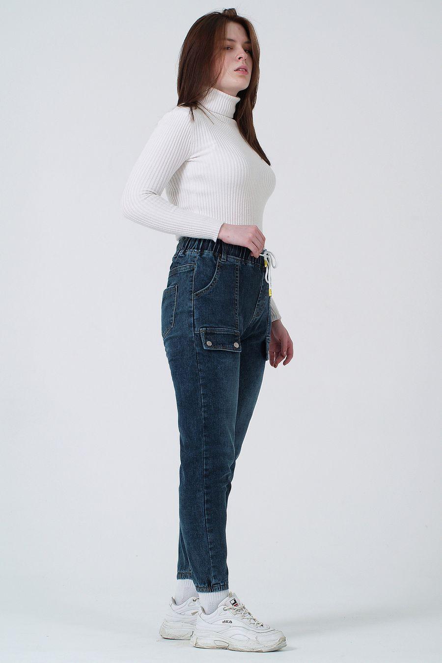 Джинсы женские K.Y Jeans 096 утепленные - фото 2
