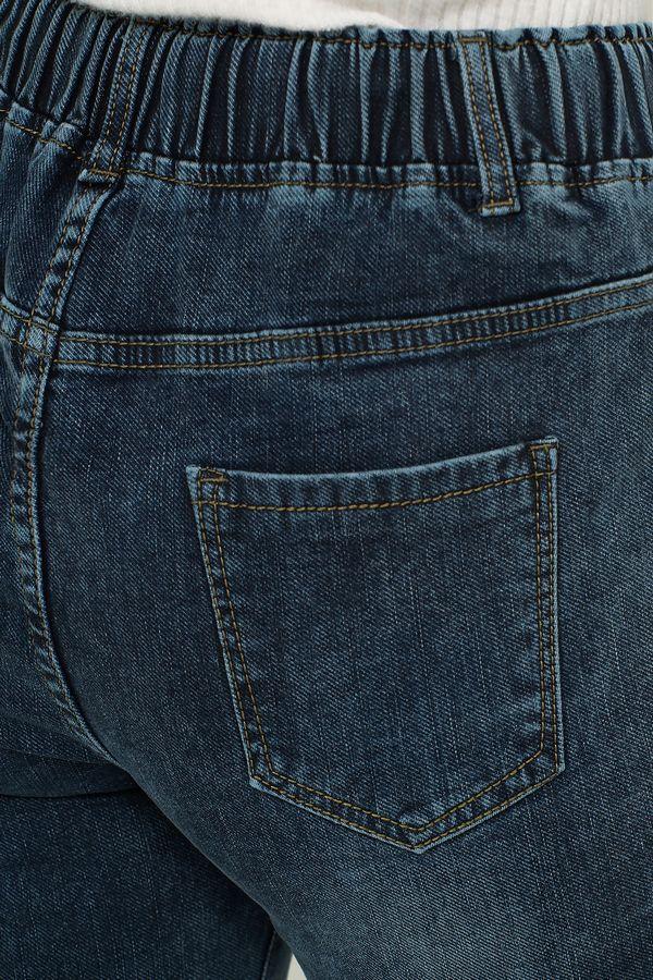Джинсы женские K.Y Jeans 096 утепленные - фото 5