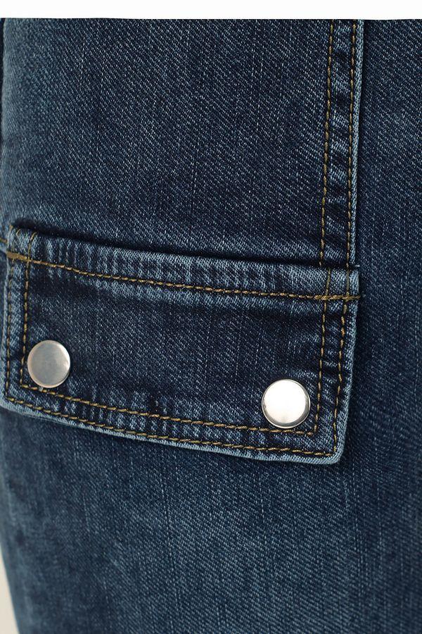 Джинсы женские K.Y Jeans 096 утепленные - фото 6