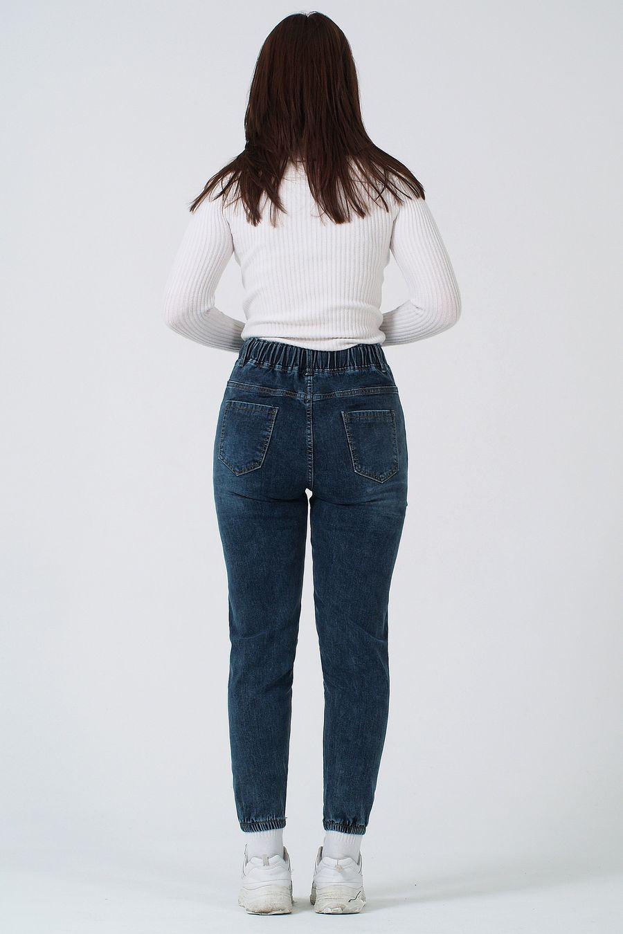 Джинсы женские K.Y Jeans 096 утепленные - фото 3