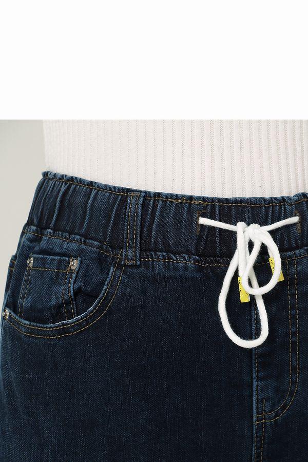 Джинсы женские K.Y Jeans 091 утепленные - фото 3
