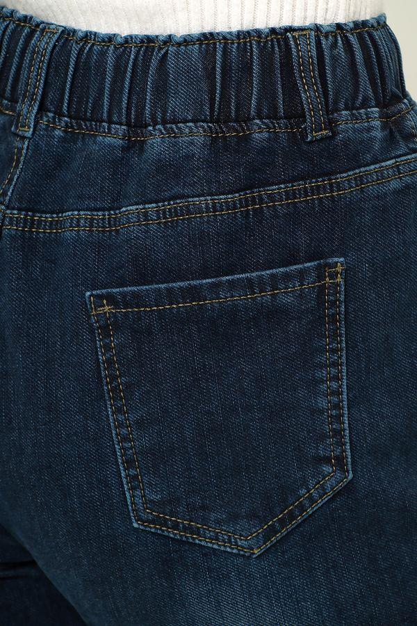 Джинсы женские K.Y Jeans 091 утепленные - фото 4