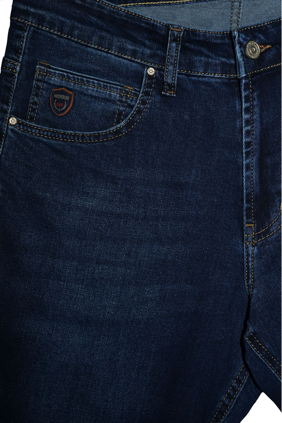 Джинсы мужские MAC Person 2923-12321 Blue Blue - фото 3