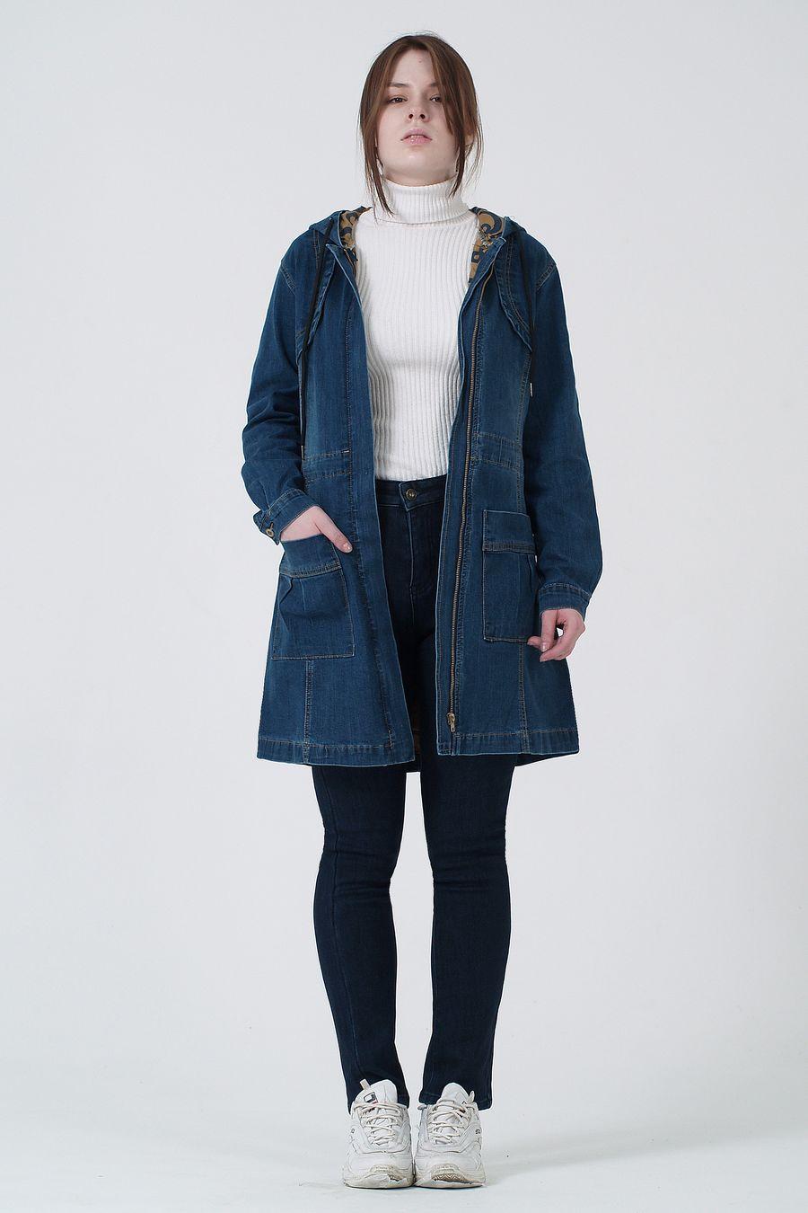 Пиджак женский (джинсовка) K.Y Jeans 901 - фото 1