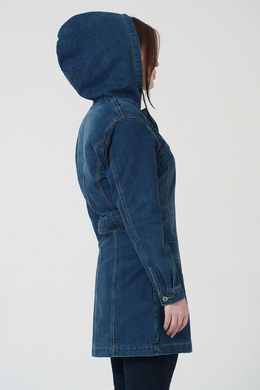 Куртка женская K.Y Jeans 901 утепленная - фото 3