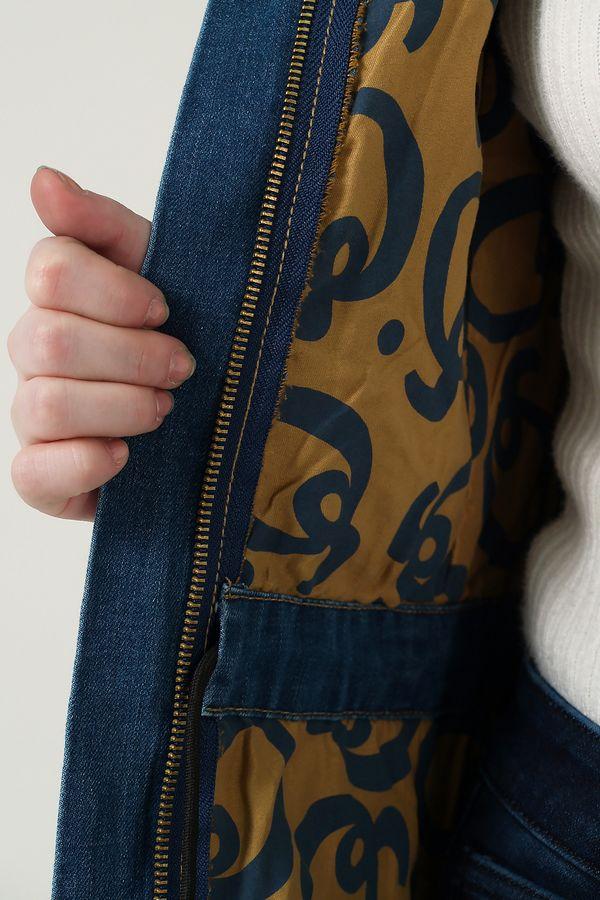 Пиджак женский (джинсовка) K.Y Jeans 901 - фото 4