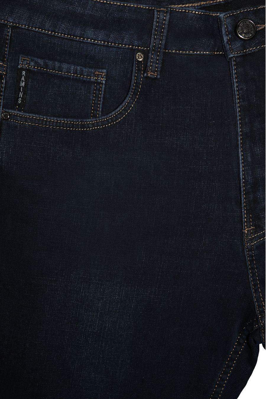 Джинсы мужские Ramins Denim RS4-6010 утепленные - фото 3