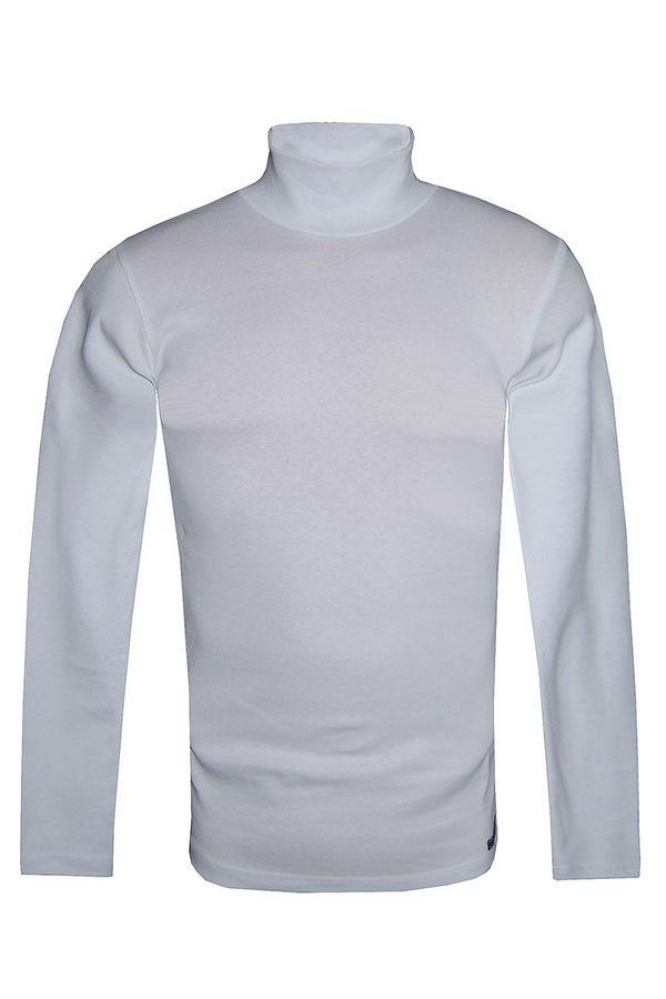 Водолазка мужская Tom Hawkins белая Big Size - фото 1