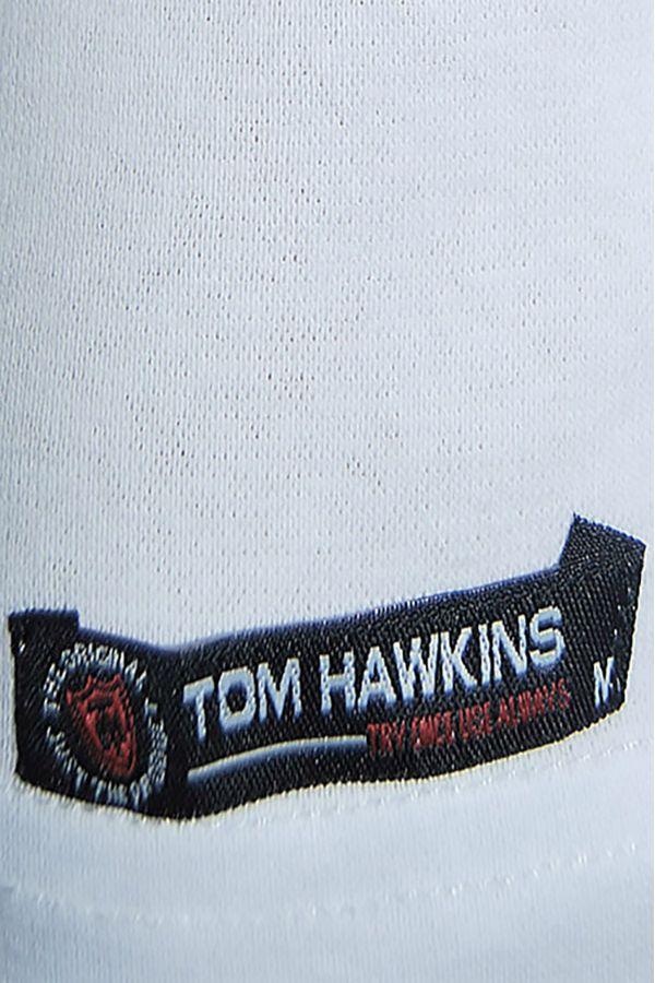 Водолазка мужская Tom Hawkins белая Big Size - фото 2