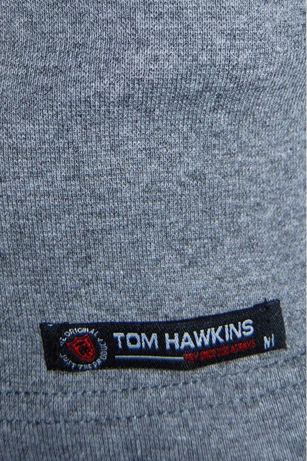 Водолазка мужская Tom Hawkins серая меланж Big Size - фото 2