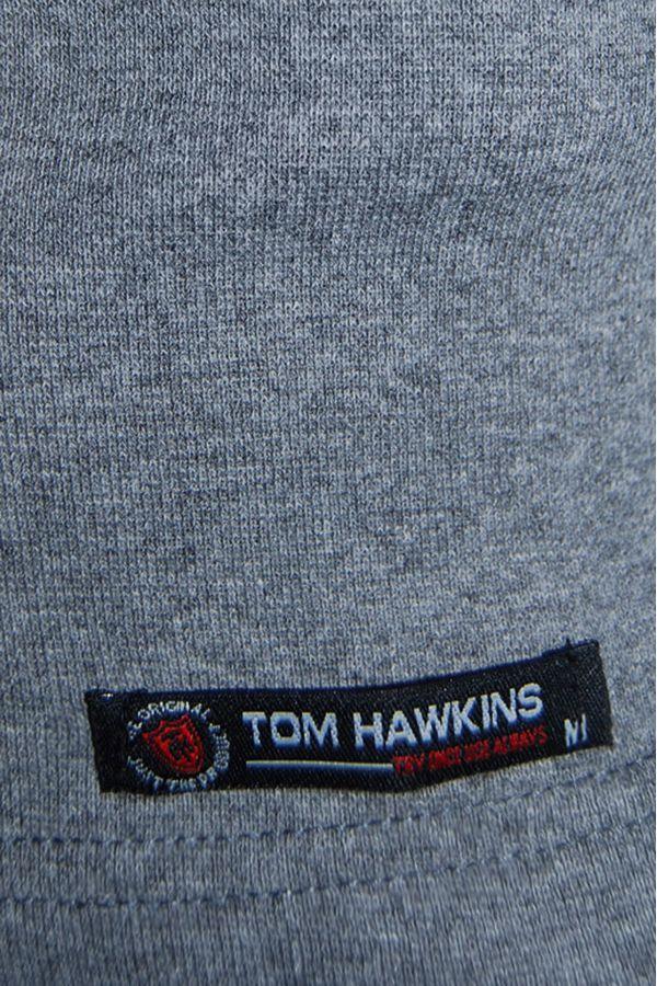 Водолазка мужская Tom Hawkins серая Big Size - фото 2