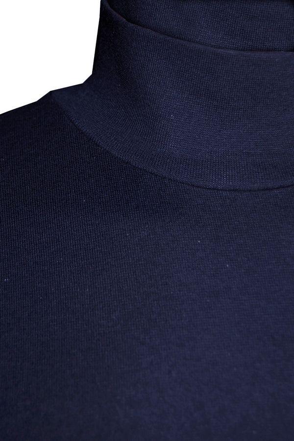 Водолазка мужская Tom Hawkins темно-синяя Big Size - фото 2
