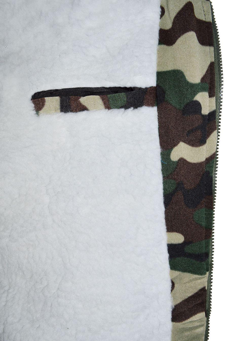 Куртка мужская Rosser 01 светлая камуфляж утепленная - фото 3