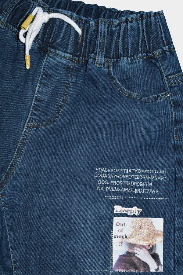 Джинсы женские K.Y Jeans 171 утепленные - фото 3