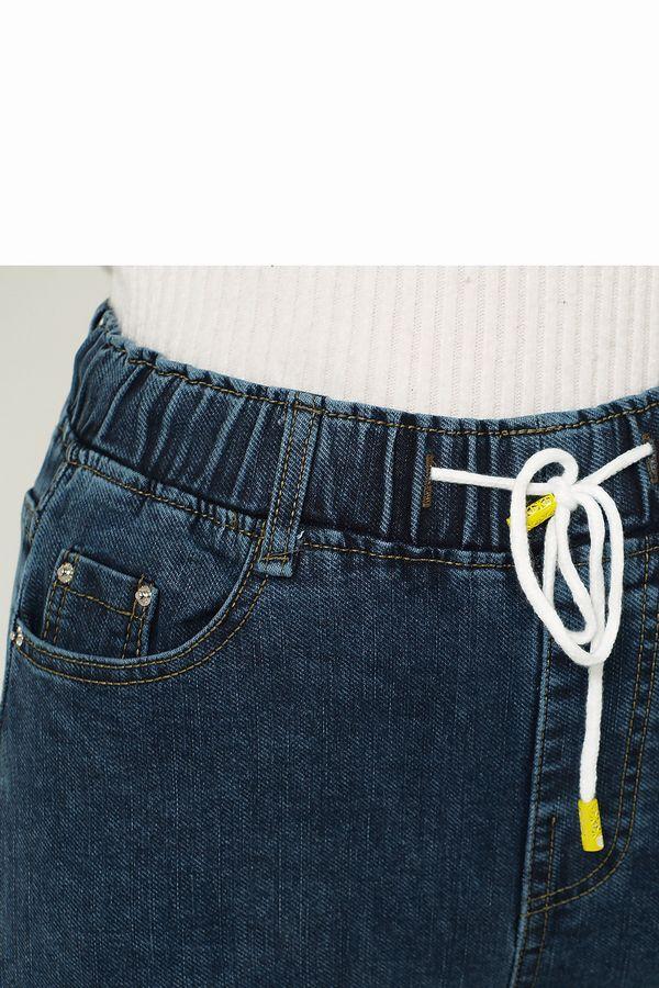 Джинсы женские K.Y Jeans 171 утепленные - фото 4
