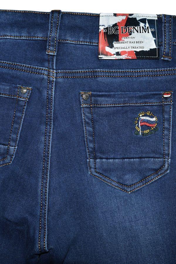 Джинсы женские Blue Group 6507 утепленные - фото 2