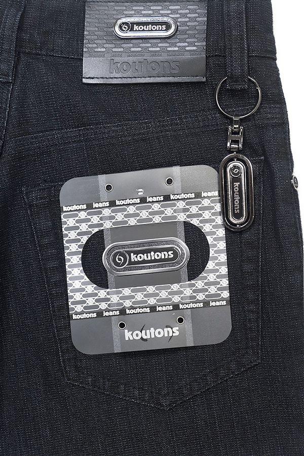 Джинсы мужские Koutons KT-06-11-H Black-Black - фото 4