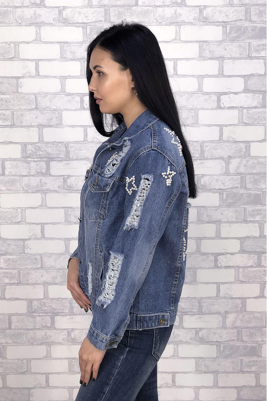 Жакет женский (джинсовка) LRZBS 6638 - фото 2