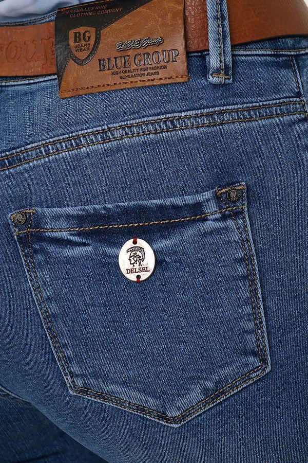 Джинсы женские Blue Group 6473 - фото 4
