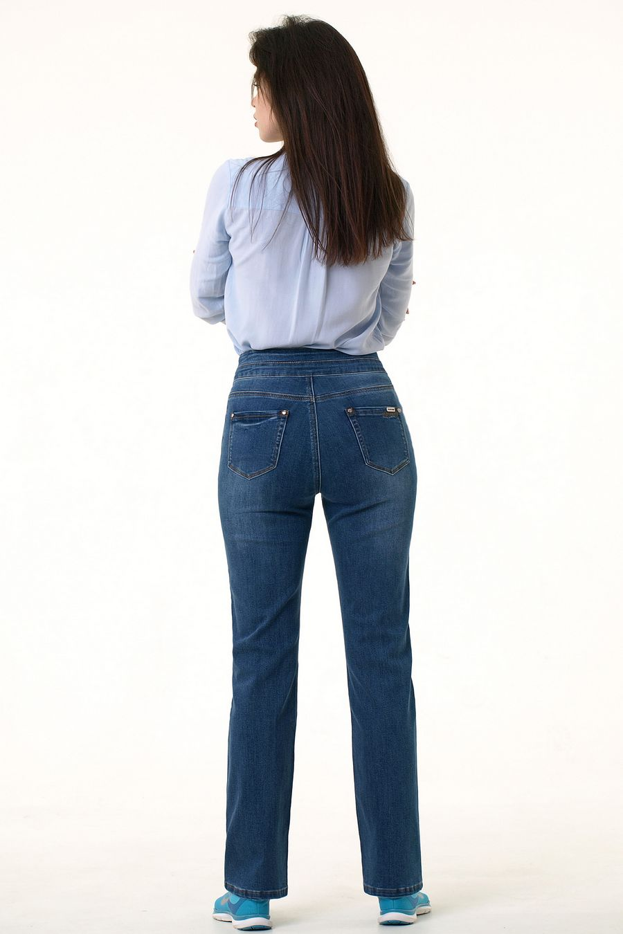 Джинсы женские Blue Group 7400 - фото 3