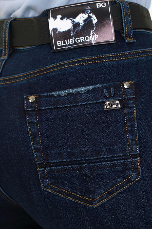 Джинсы женские Blue Group 7416 - фото 4