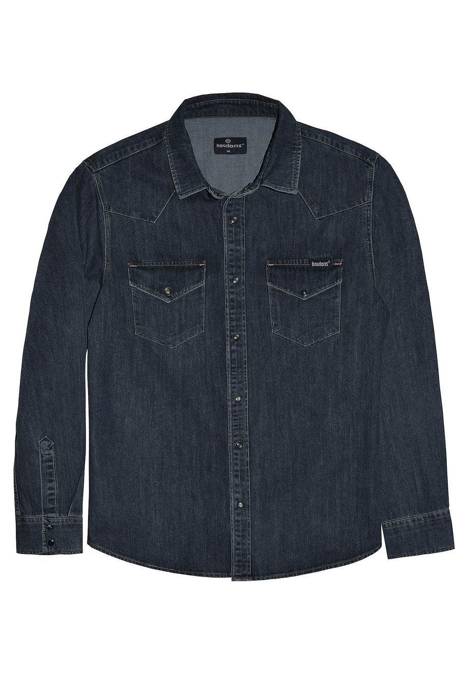 Рубашка мужская Koutons 1997 Talin Black 02 - фото 1