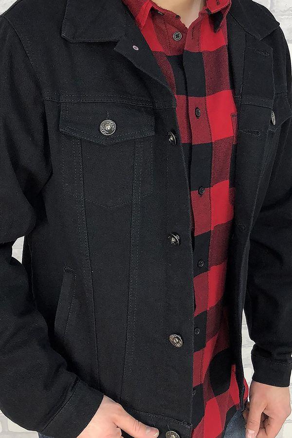 Пиджак мужской (джинсовка) DR (Dervirga`s) 8801 - фото 4