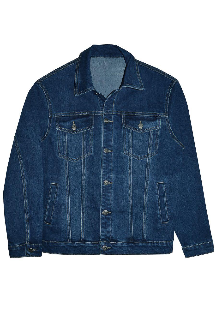 Пиджак мужской (джинсовка) Vicucs 728E.870-8T (M-3XL) - фото 1