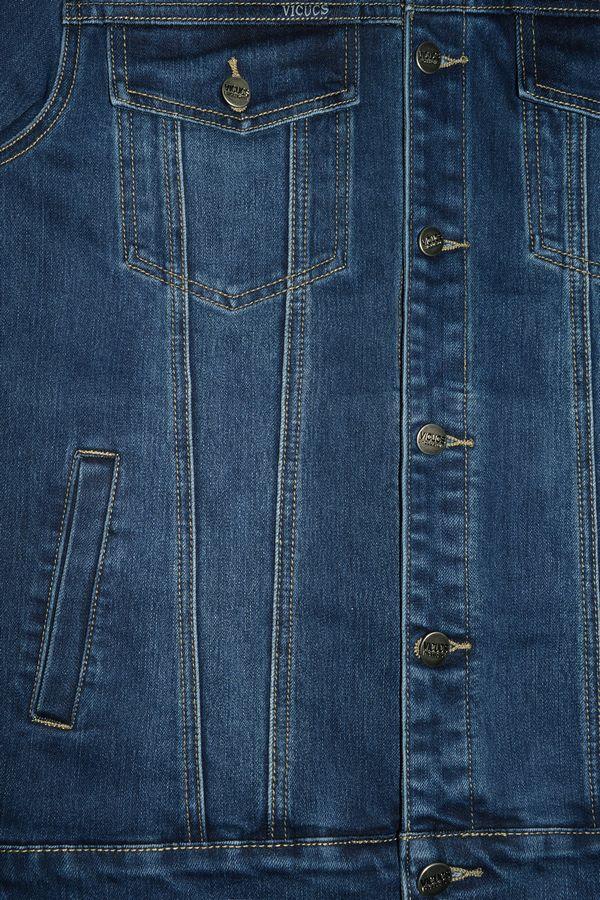 Пиджак мужской (джинсовка) Vicucs 728E.870-8T (M-3XL) - фото 3