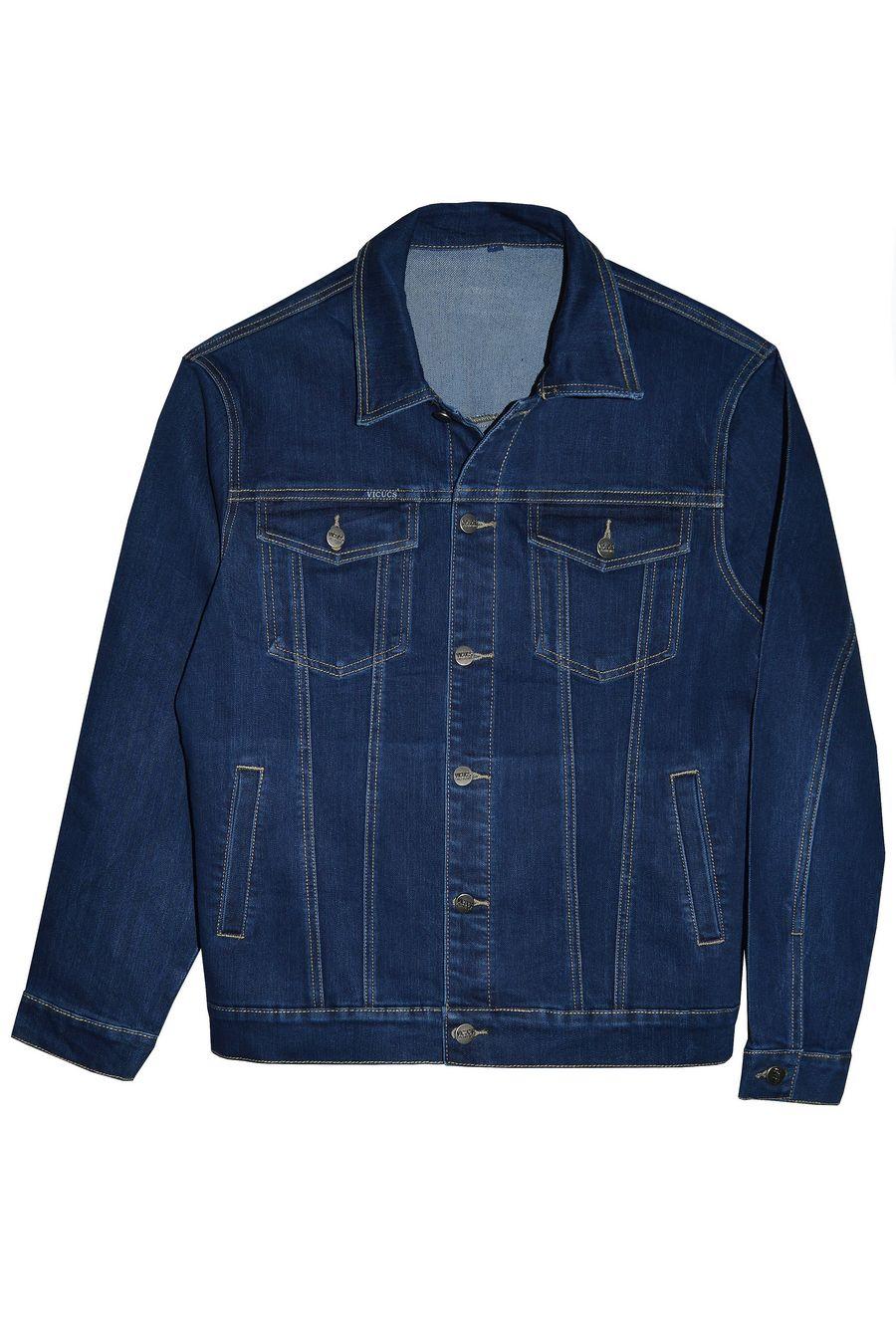 Пиджак мужской (джинсовка) Vicucs 728E.870-5 (XL-5XL) - фото 1