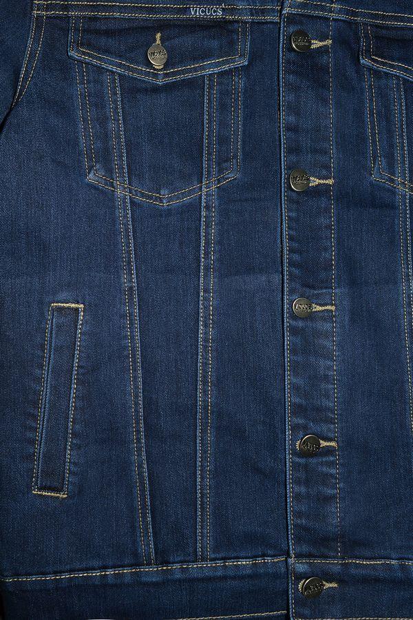 Пиджак мужской (джинсовка) Vicucs 728E.870-5 (XL-5XL) - фото 2