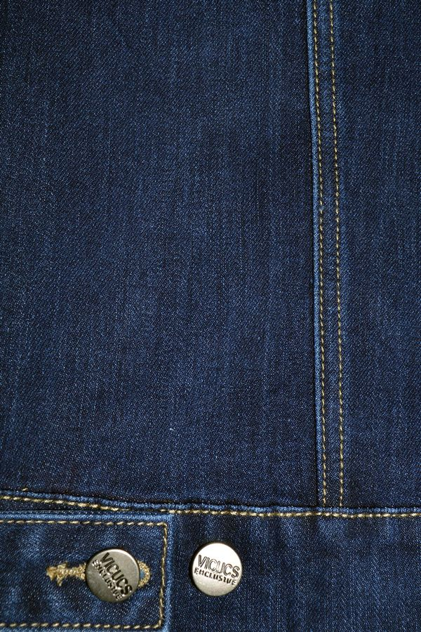 Пиджак мужской (джинсовка) Vicucs 728E.870-5 (XL-5XL) - фото 3