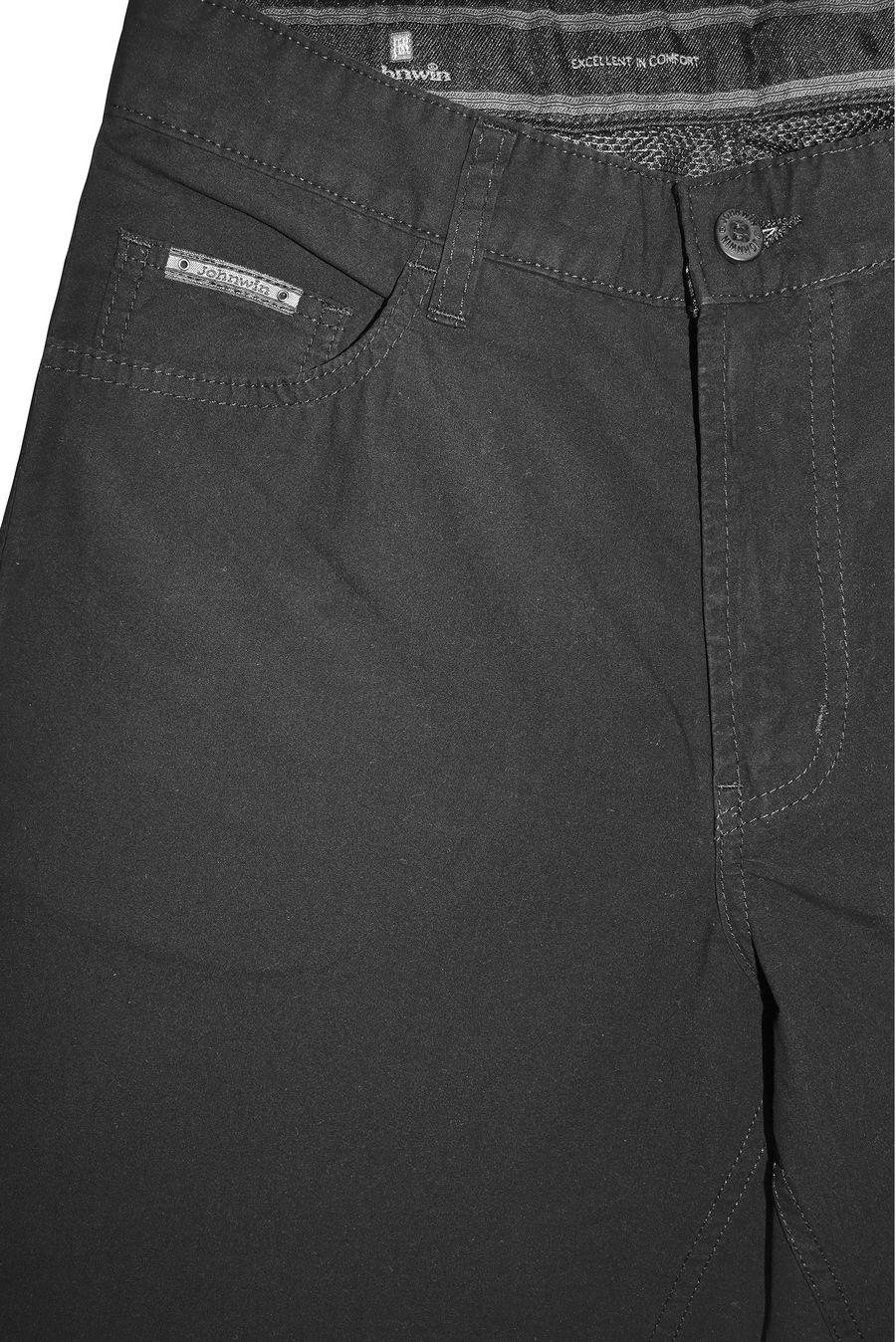 Брюки мужские Johnwin 77333 черные - фото 3